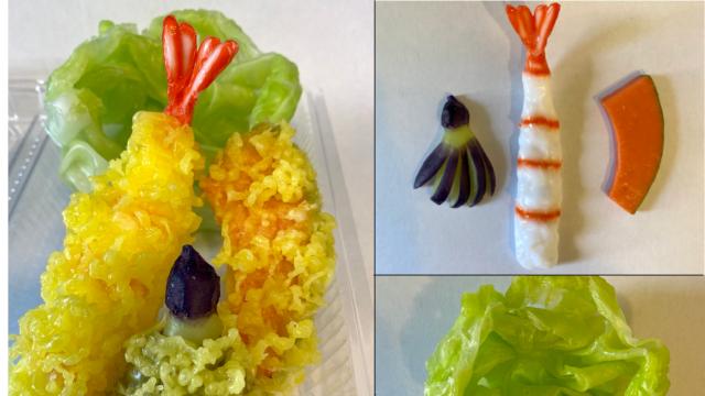 天ぷら/天ぷらレタスセット